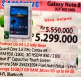 harga Samsung Galay Note 8