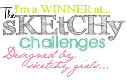 I'm a Winner @ The Sketchy Challenge 2nd March