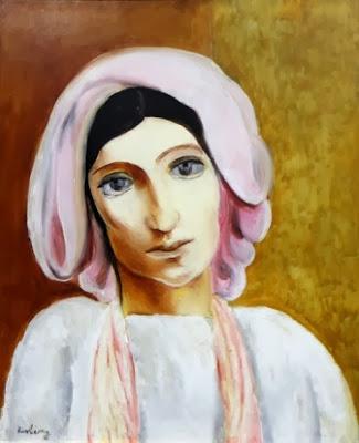Мойс Кислинг, Портрет женщины, 1920