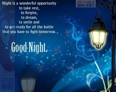 Good Night : Nice Dreams | 2013 Free Wallpapers