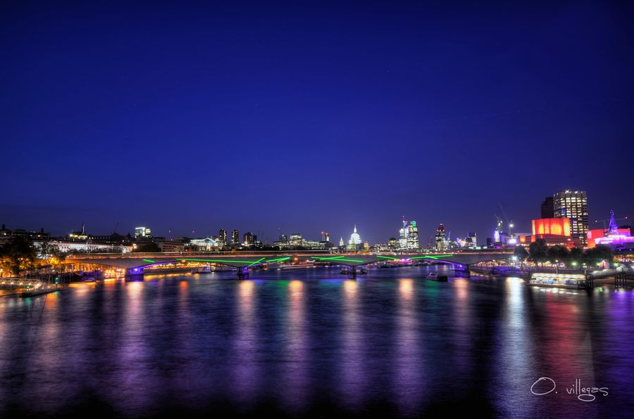 31. Blackfriars Bridge by Oliver Villegas