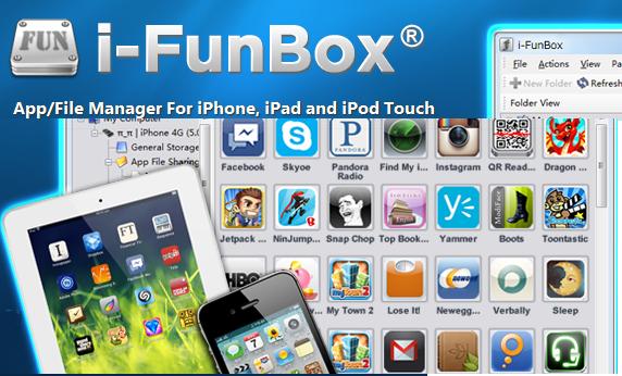 iFunbox e cartella giochi vuota con iOS 8.3