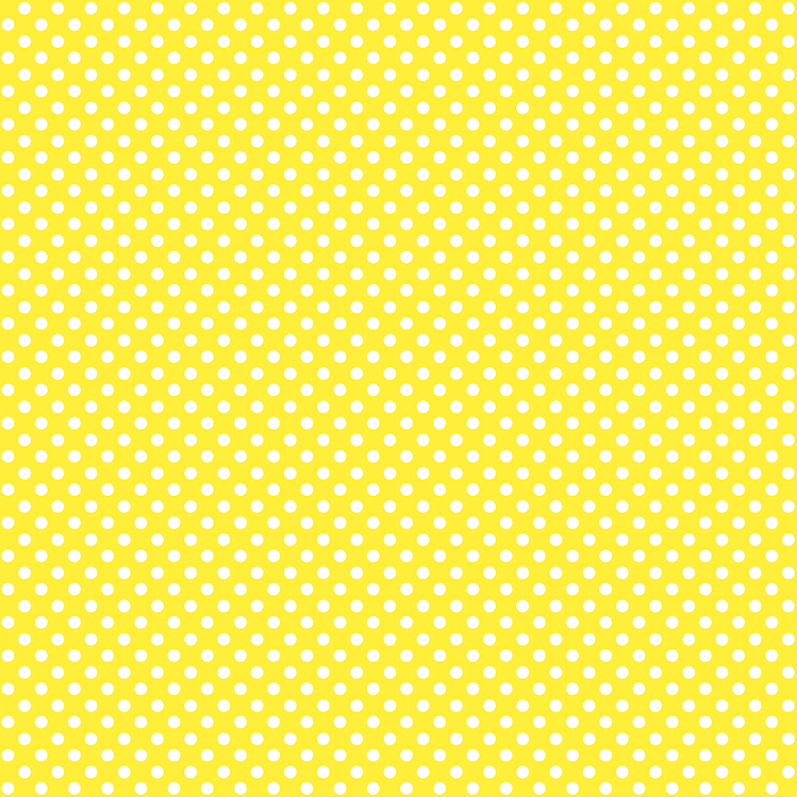 free digital yellow polka dot background