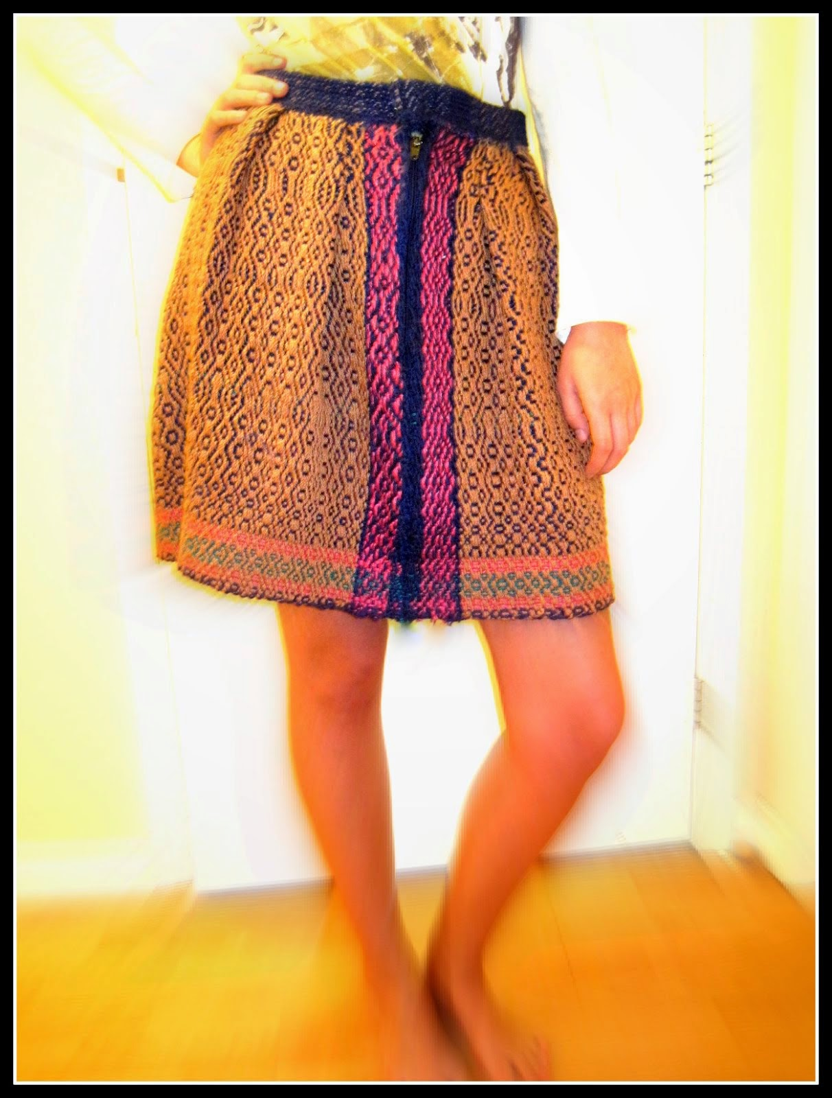 Handwoven skirt
