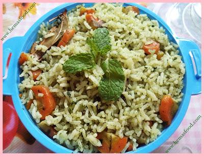 Mint Pepper Rice