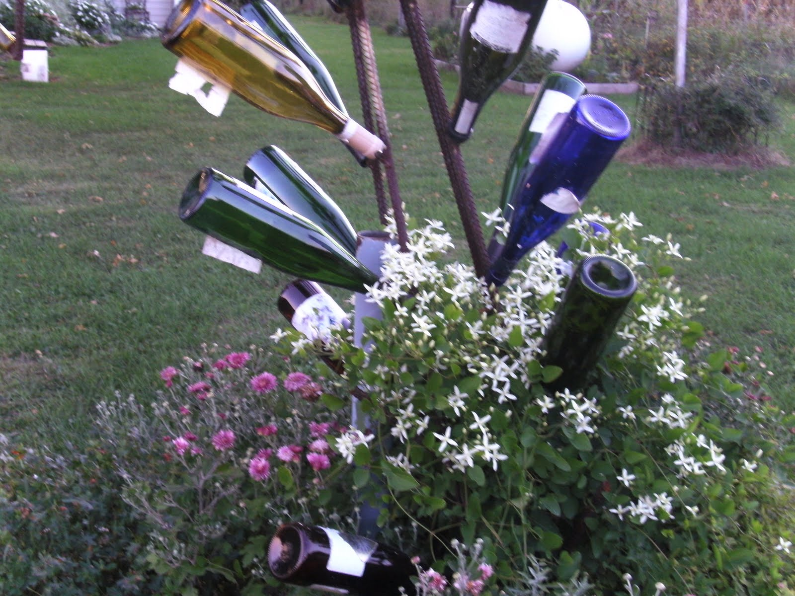Making Home: Wine Bottle Trees