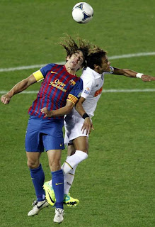 Los protagonistas hablaron del Barcelona Vs Santos