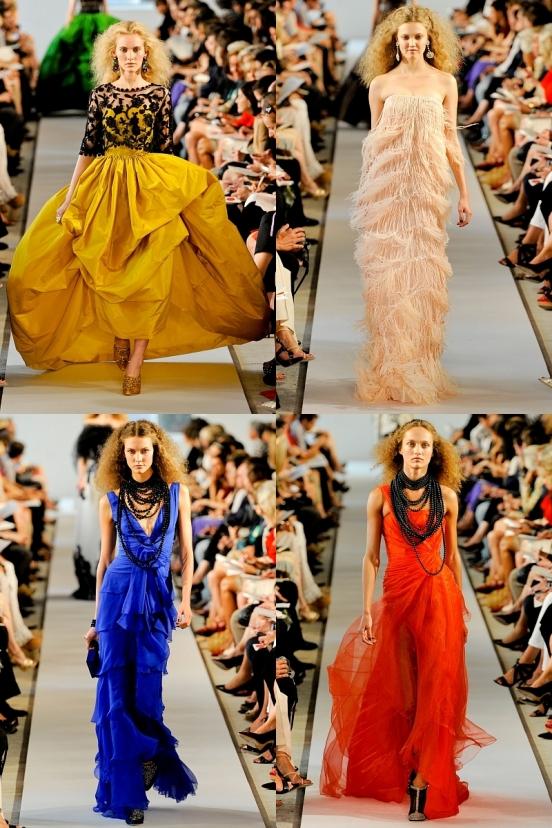 84185b Довгі вечірні сукні 2012 / фото
