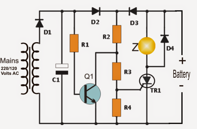 Power Interruption Alarm Circuit