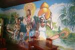 Painel localizado escola QUILOMBO CURIAÚ - Macapá