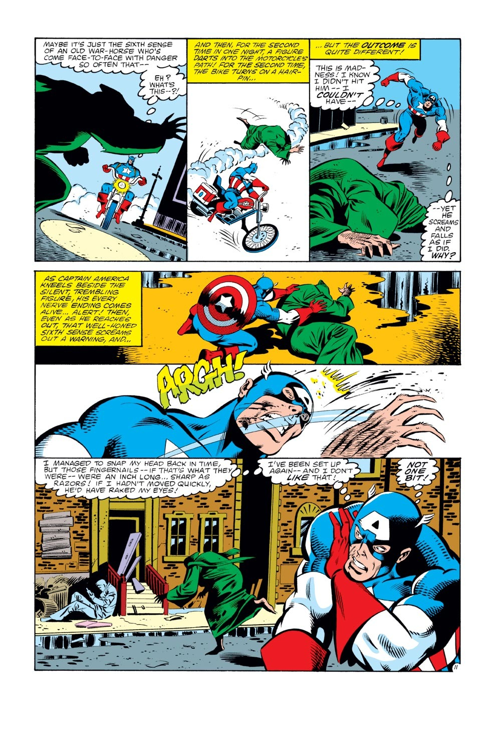 Captain America (1968) Issue #272 #188 - English 12