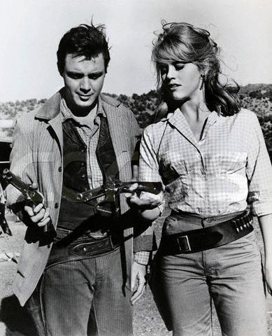 Jane Fonda, Michael Callan in Cat Ballou 1965