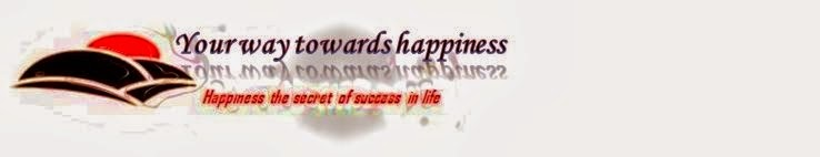 Your way towards happiness
