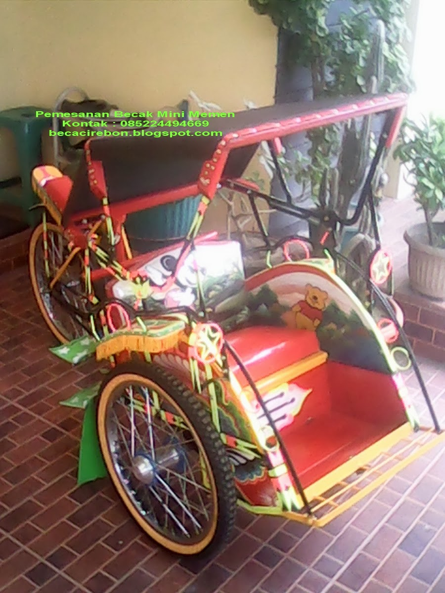 Gambar Becak Mini Memen Oktober 2013 For Sale
