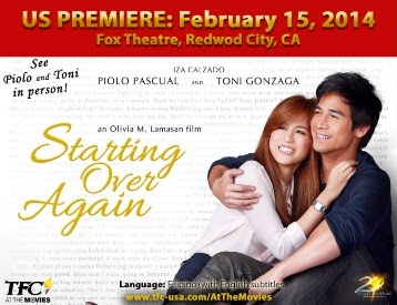 Piolo Pascual and Toni Gonzaga Grace US Premiere of Starting Over Again