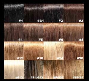 Hair Color Chart Skin Tone