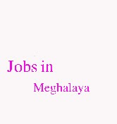 Jobs in Meghalaya