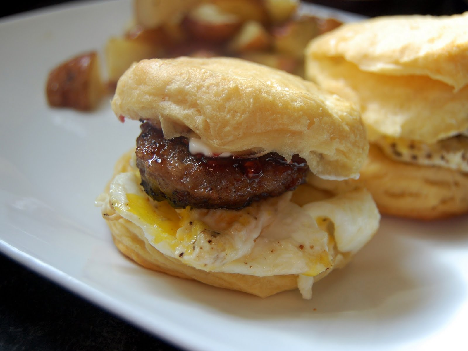 Sausage Biscuit Recipe — Dishmaps