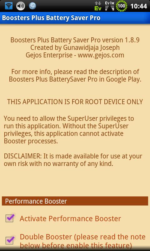 Boosters Plus Batterysaver PRO v5.3.6 Apk