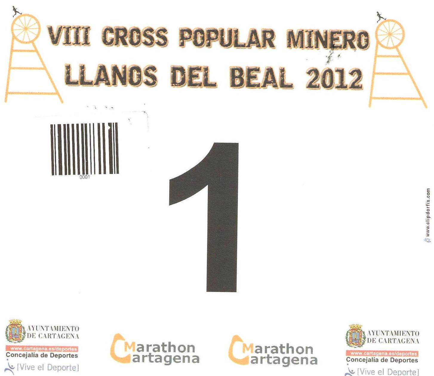 CROSS MINERO: 2012