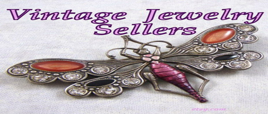 Vintage Jewelry Sellers on Etsy