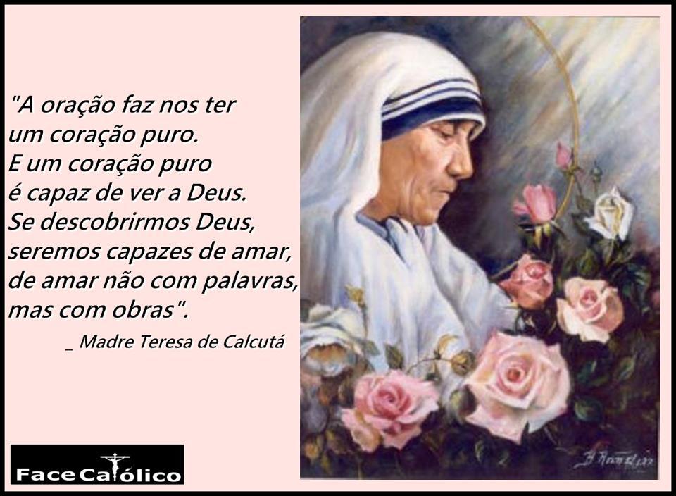Falação O Amor Segundo Madre Teresa De Calcutá