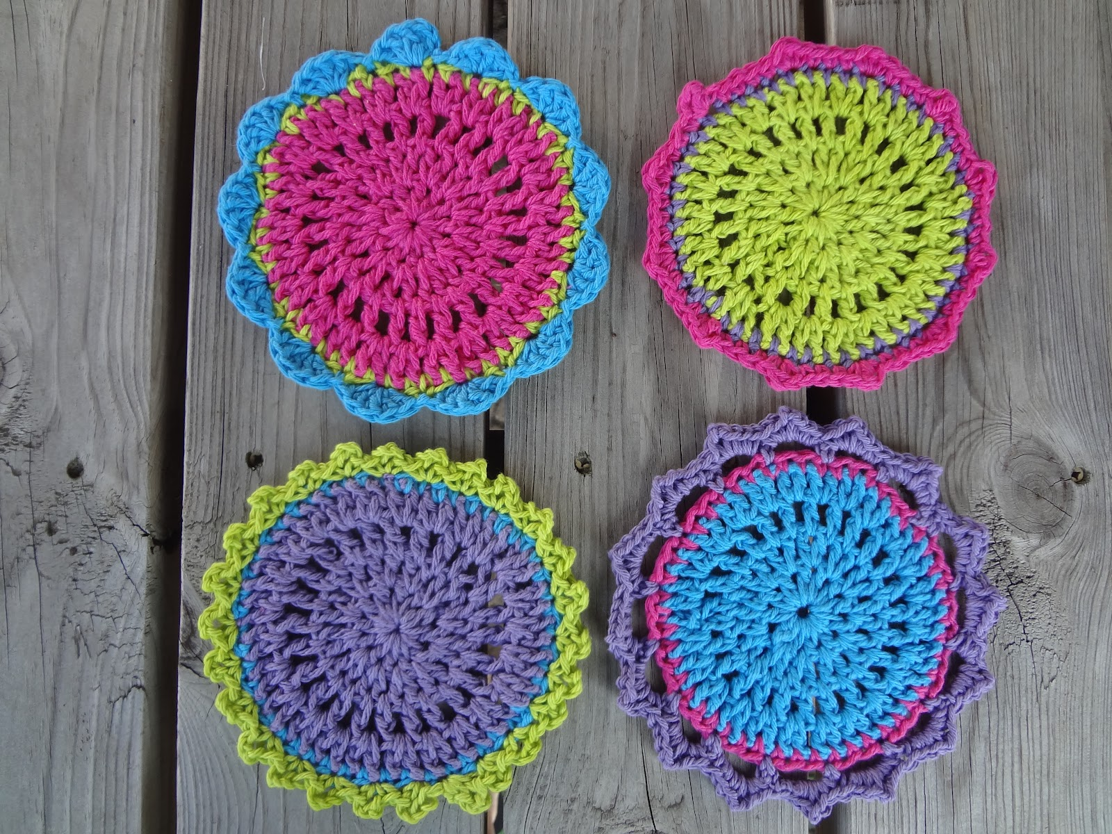 crochet pattern central free coasters crochet pattern