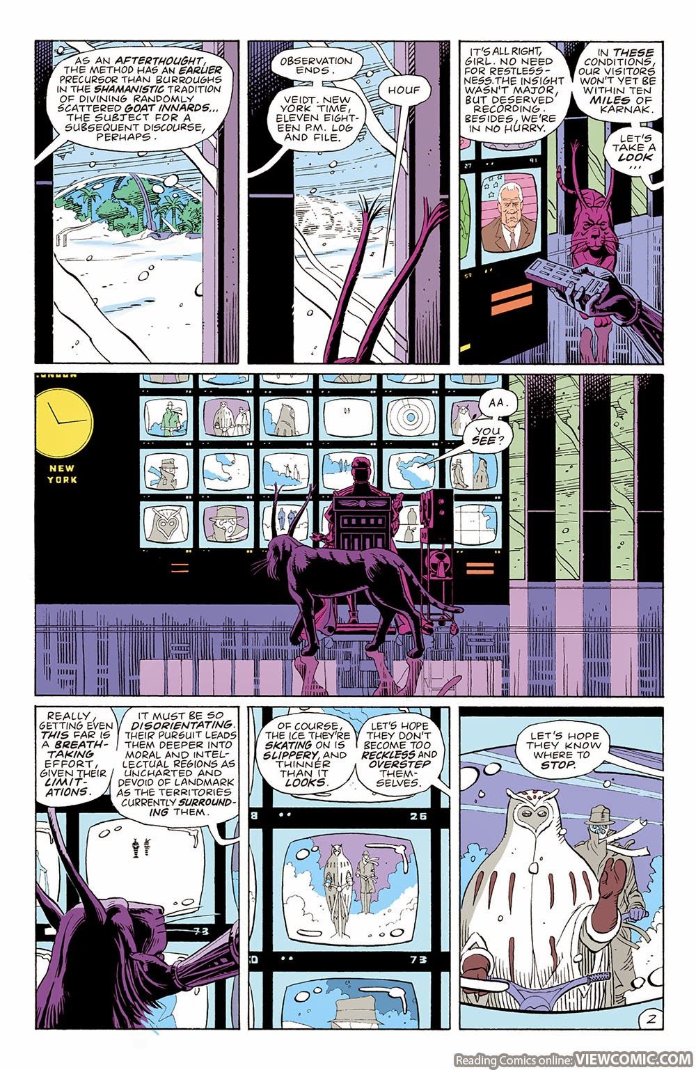 watchmen and chapter The second part of the thesis (chapter 5) is an analysis of the watchmen comic  book from the perspective of the myth of redemptive violence.