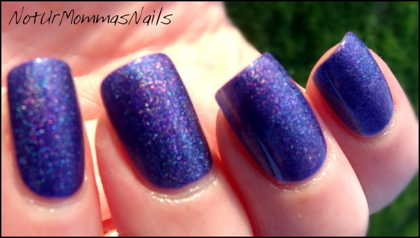 Aly's Dream Polish Intense Blurple
