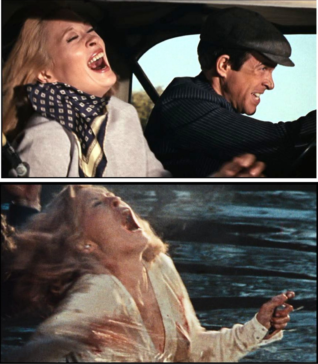 dreams are what le cinema is for bonnie clyde 1967 bonnie clyde laughing and dying the killing gets less impersonal and consequently less funny