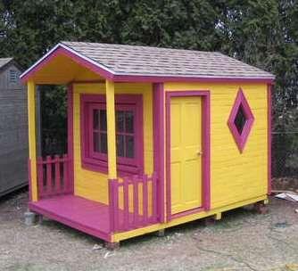 Casa de juguete para vuestros hijos - Casa de juguetes para jardin ...