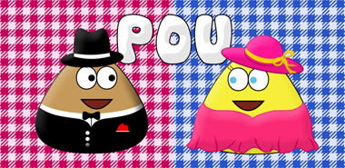 Download Pou Keeping strange animals Apk