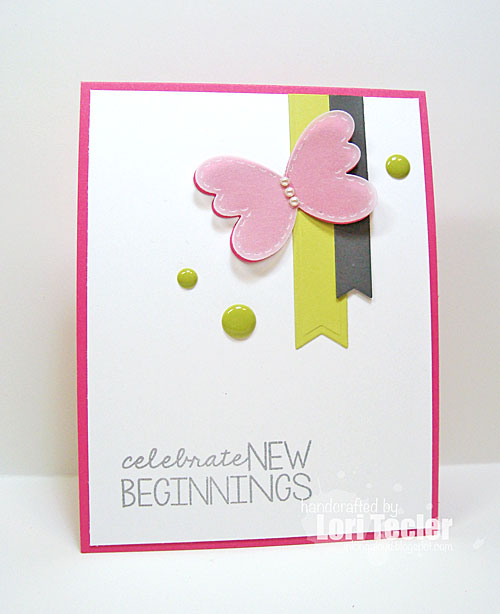 New Beginnings card-designed by Lori Tecler/Inking Aloud-stamps from Lil' Inker Designs