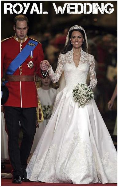 british royal wedding gowns. subtle elegance of her wedding