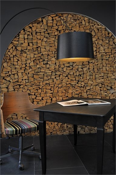 Fireplace: Wood Storage II. Smart Ways To Store Woods Inside, Near The  Fireplace Or In A Special