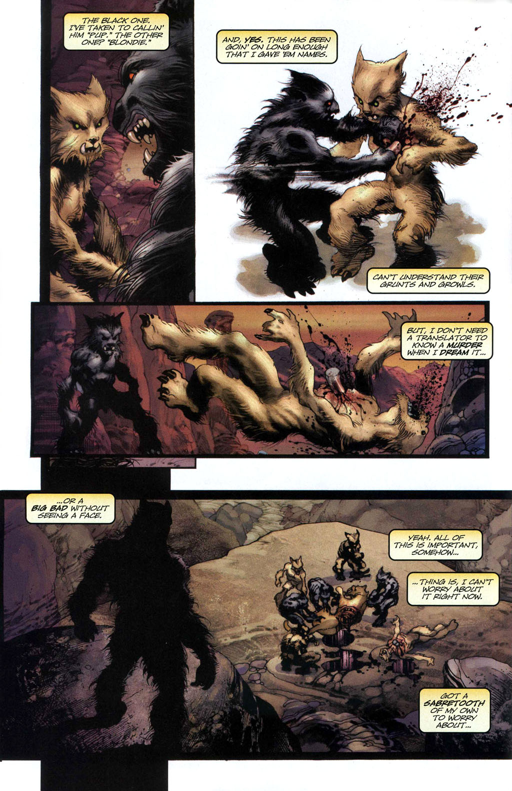 Read online Wolverine (2003) comic -  Issue #50 - 5