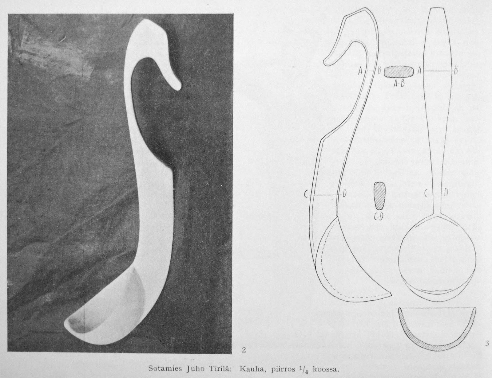 Woodsman crafts finnish spoon design plans