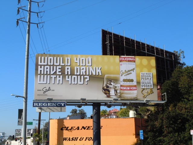Stoli Vodka billboard