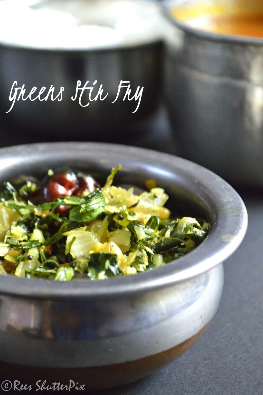 keerai, greens stir fry, side dish for rice, ponnagani keerai stir fry, grrens recipes, greens stir fry, keerai poriyal, keerai recipes, ponnagani keerai recipes, easy keerai recipes, keerai stir fry