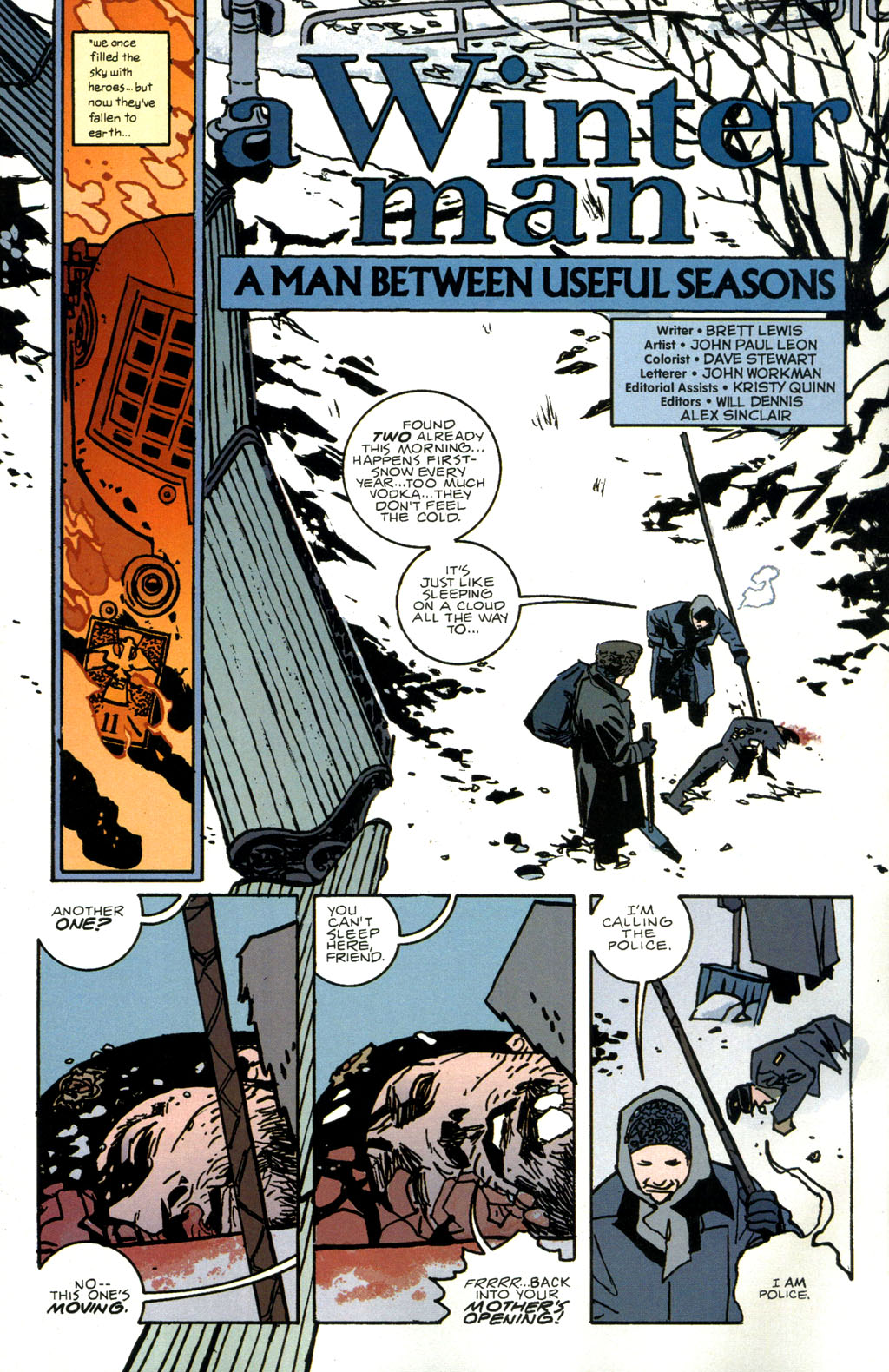 Read online The Winter Men comic -  Issue #1 - 7