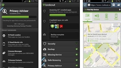Lookout Security & Antivirus Free Apk Android