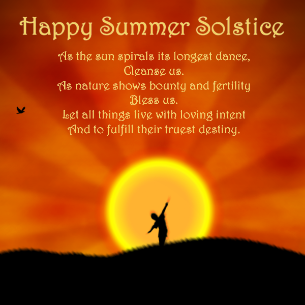 Summer Sostice Blessings