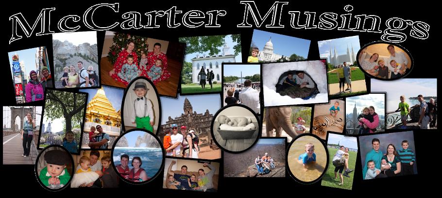 McCarter Musings