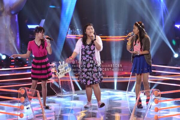 Musika, Mitz, Gab Team Sarah Battles on 'The Voice Kids' Philippines