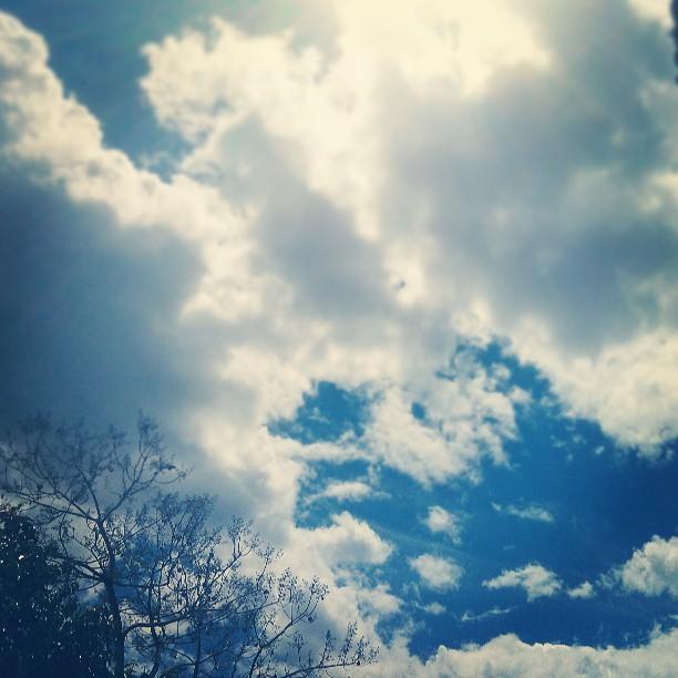 foto de instagram lelelerele nubes