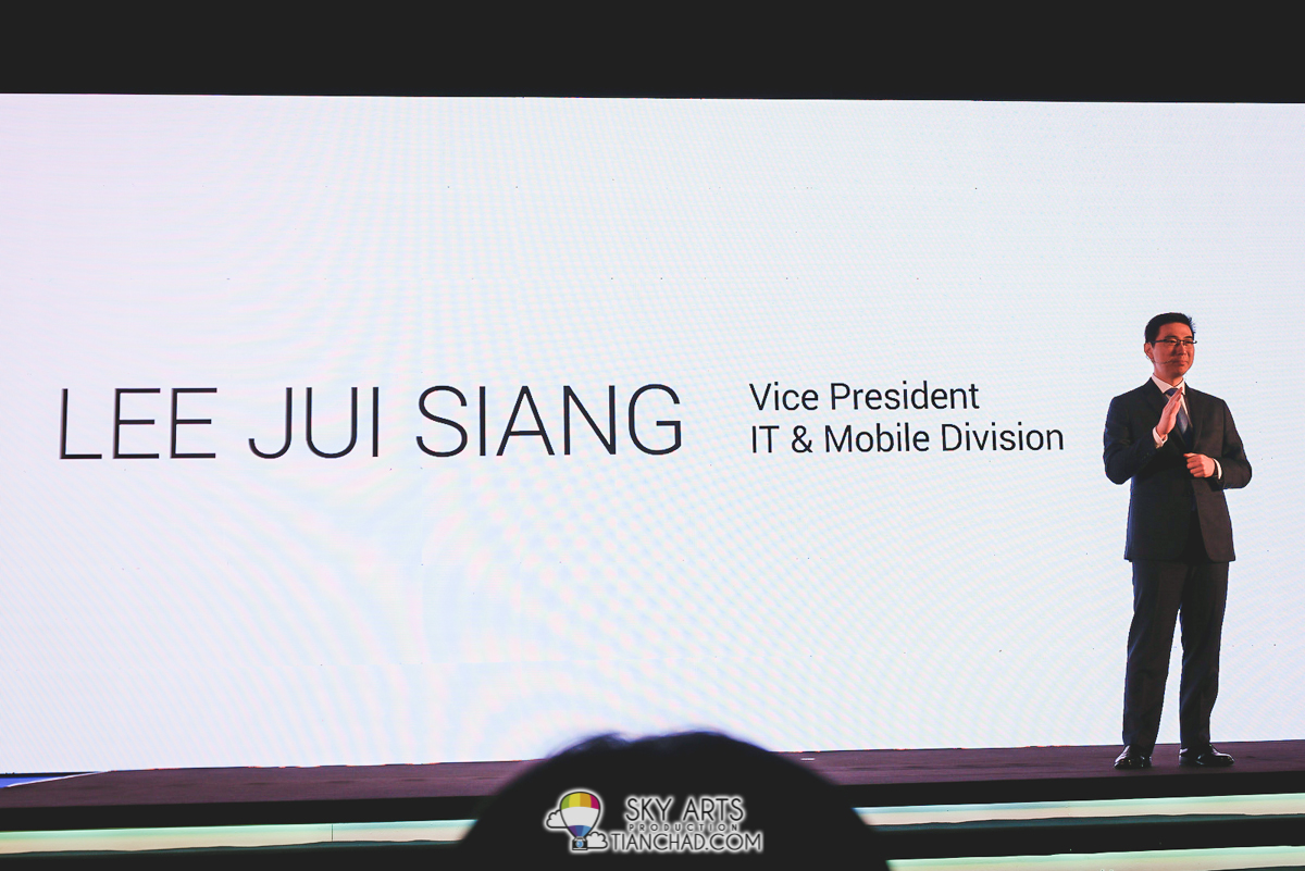 Lee Jui Siang, Vice President of IT and Mobile Division Samsung Malaysia