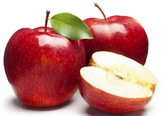 buah apel mengurangi resiko alergi pada anak