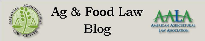Ag & Food Law Blog