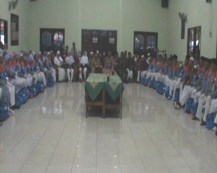 Sambutan Berangkat Haji