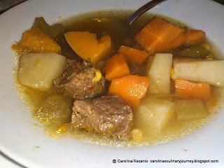 Beef Soup (Sopa de Res) Venezuela